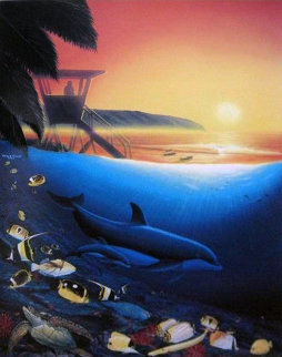North Shore 1994  Hawaii Limited Edition Print - Robert Wyland