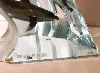 Making Waves Lucite Sculpture 1998 9 in Sculpture by Robert Wyland - 4