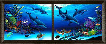 Sea of Color and Life 2007 34x70 Super Huge Limited Edition Print - Robert Wyland