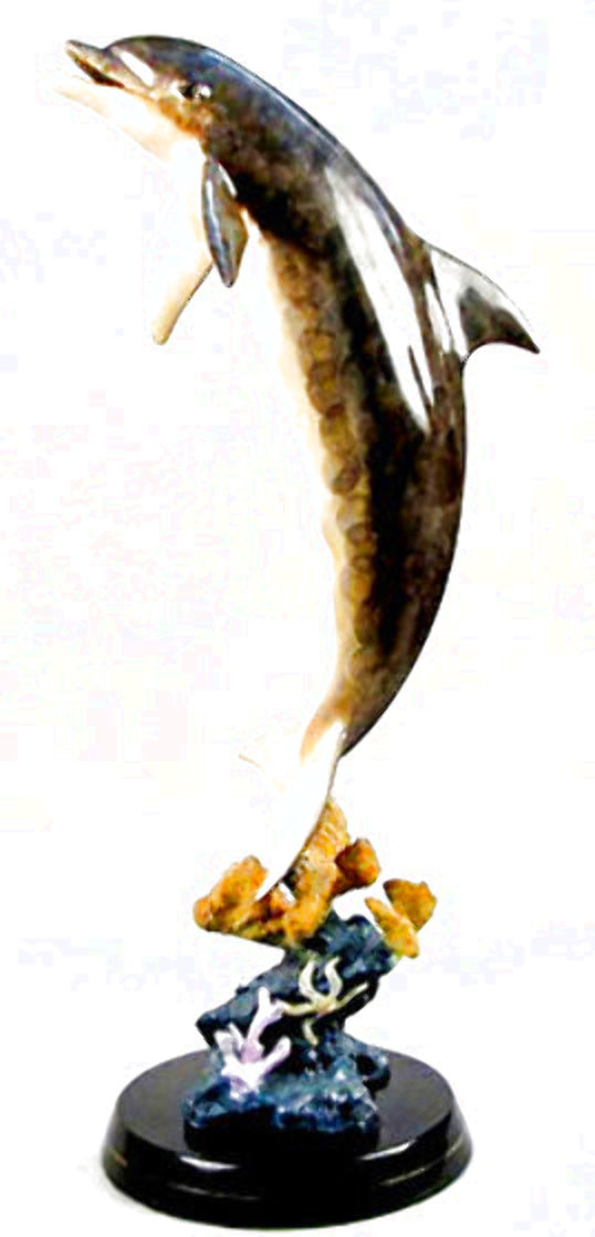 Dolphin Dream Bronze Sculpture  1999 32 in Sculpture by Robert Wyland