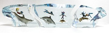 Disney Dive Buddies Acrylic Sculpture 22 in Sculpture - Robert Wyland