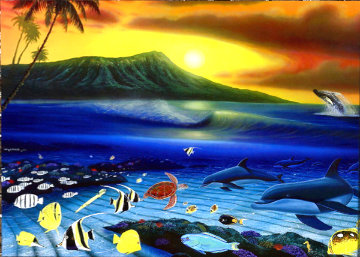 Dawn of Life 2010 Limited Edition Print - Robert Wyland