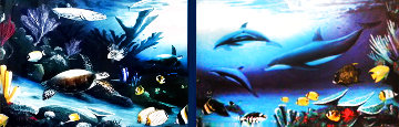 Living Reef Diptych  Limited Edition Print - Robert Wyland