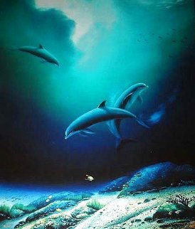 Children of the Sea 1992 Limited Edition Print - Robert Wyland