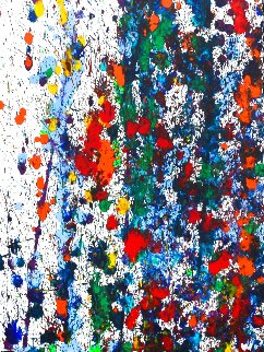 Pollack Coral Reef Watercolor 23x19 Watercolor - Robert Wyland