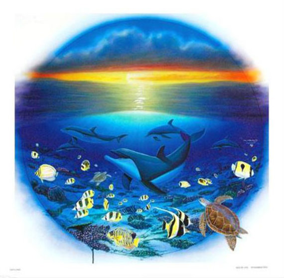 Sea of Life 2003 Limited Edition Print by Robert Wyland