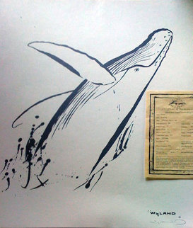 Breaching  1991 Limited Edition Print by Robert Wyland