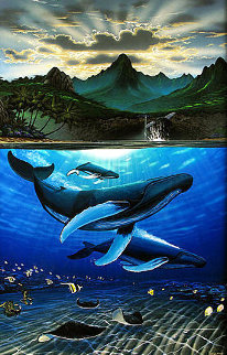 Dawn of Creation 2003 Limited Edition Print by Robert Wyland