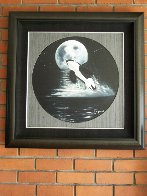 Orca Moon AP Limited Edition Print by Robert Wyland - 1