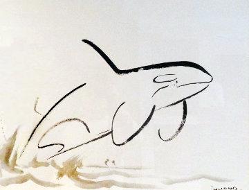Orca 2007 35x45 Super Huge Works on Paper (not prints) - Robert Wyland