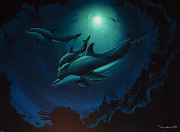 Dolphin Sea 2006 Limited Edition Print - Robert Wyland