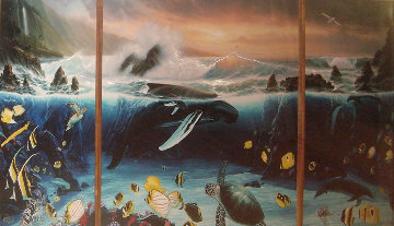 Ocean Trilogy 1995 Limited Edition Print by Robert Wyland