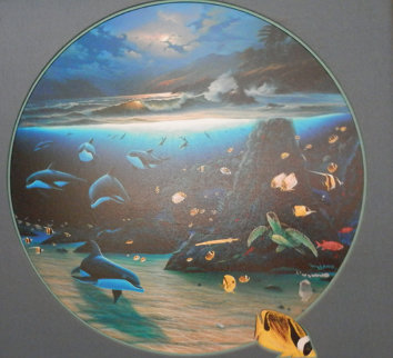 Blue Planet AP Limited Edition Print by Robert Wyland