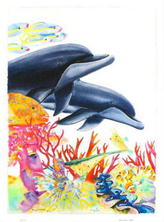 Sea of Color AP 2005 Limited Edition Print by Robert Wyland