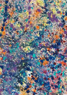 Coral Colors 25 Watercolor 2008 Watercolor - Robert Wyland