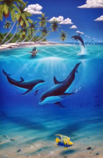 Dreaming of Paradise AP 2003 Limited Edition Print by Robert Wyland