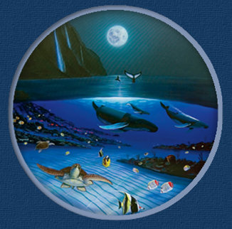 Blue Planet 2005 Limited Edition Print - Robert Wyland