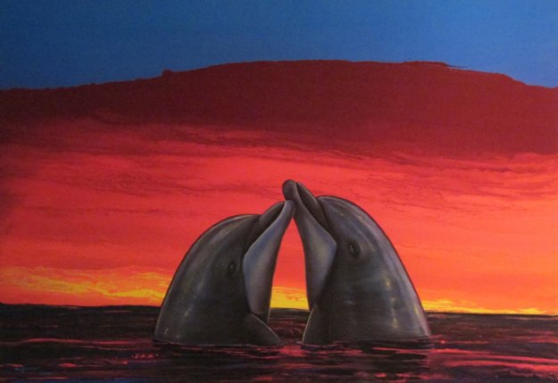 Sunset Romance 2005 Limited Edition Print by Robert Wyland