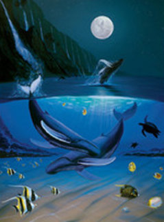 Ocean Passion 2004 Limited Edition Print - Robert Wyland