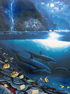 Paradise 1992 Limited Edition Print by Robert Wyland