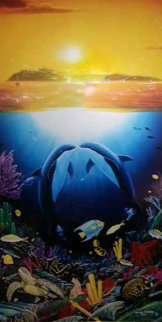 Paradise Found 1996 Limited Edition Print - Robert Wyland