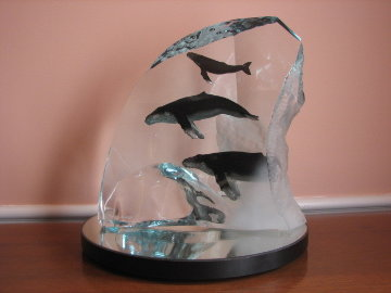 Humpback Tribe  Sculpture AP 2002 13 in Sculpture - Robert Wyland