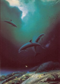 Children of the Sea AP 1984 Limited Edition Print by Robert Wyland