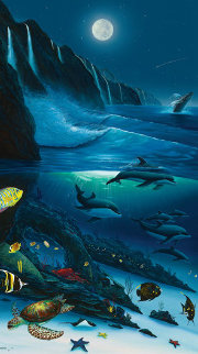 Sacred Waters 2008 Limited Edition Print by Robert Wyland