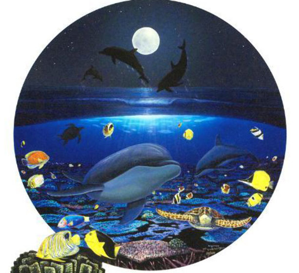 Moonlight Celebration 2004 Limited Edition Print by Robert Wyland