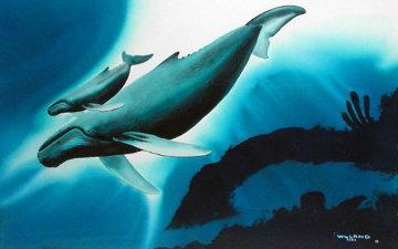 Sea Life Celebration Watercolor 1991  Watercolor - Robert Wyland