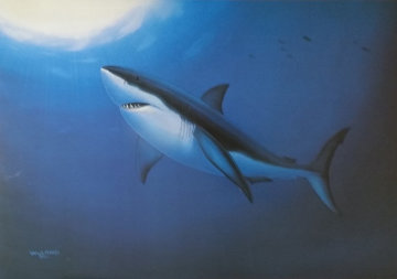 Great White 1992 Limited Edition Print by Robert Wyland