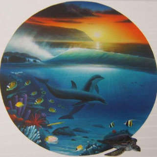 Dolphin Days 1992 Limited Edition Print by Robert Wyland