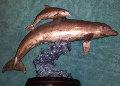 Sea Born Bronze Sculpture 1995 Sculpture - Robert Wyland