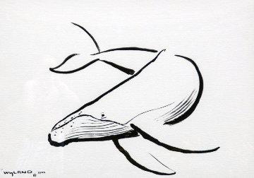 Humpback Whale Unique 2000 34x43 Super Huge Works on Paper (not prints) - Robert Wyland