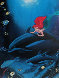 Ariel's Dolphin Ride 1994 Limited Edition Print by Robert Wyland - 0