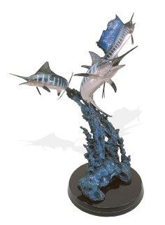 Grand Slam Bronze Sculpture AP 33 in Sculpture - Robert Wyland