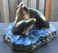 3 Amigos Bronze Sculpture AP 1998  Sculpture - Robert Wyland