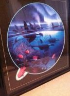 Orca Journey  1990 Limited Edition Print by Robert Wyland - 1