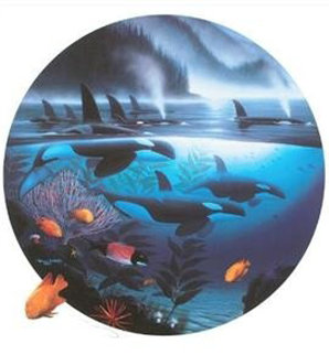 Orca Journey 1990 Limited Edition Print by Robert Wyland