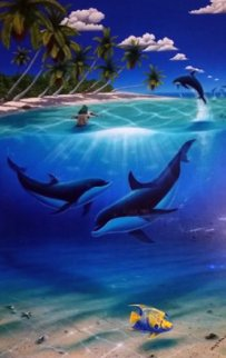 Dreaming of Paradise 2003 w Dan Macklin Limited Edition Print by Robert Wyland