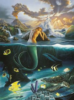 Sea's Alive  AP 2002 Limited Edition Print - Robert Wyland