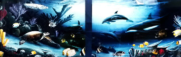 Living Reef 1991 52x36 Limited Edition Print by Robert Wyland