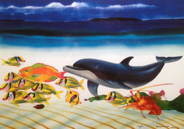 Conch Republic Right Panel 2013 Limited Edition Print - Robert Wyland