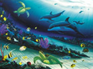Radiant Reef 2000 Super Huge Limited Edition Print - Robert Wyland