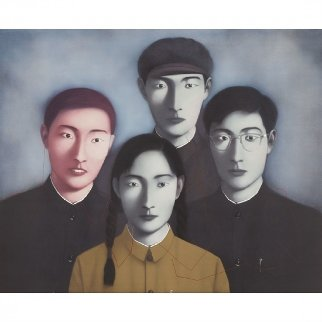 Martyr's Blood 2009 Limited Edition Print - Zhang Xiaogang