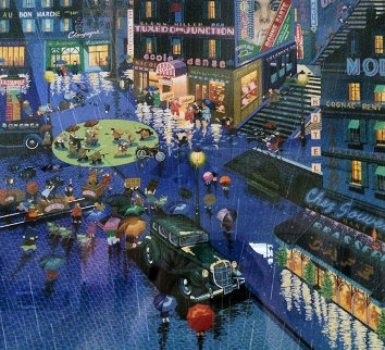 Robbers 1982 Limited Edition Print by Hiro Yamagata
