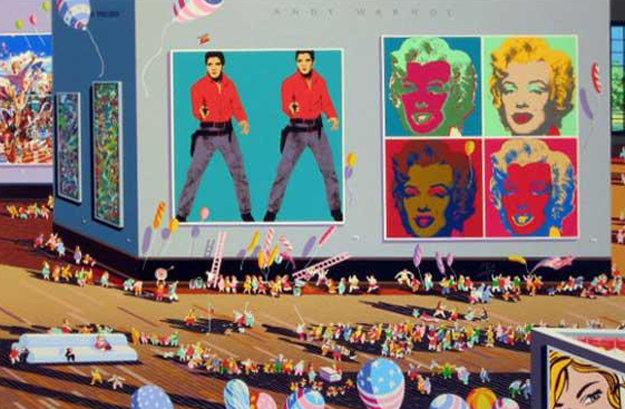 Warhol Museum 1988 Limited Edition Print by Hiro Yamagata