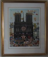 Notre Dame 1981 Limited Edition Print by Hiro Yamagata - 1
