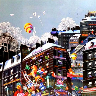 Toys - With Remarque 1985 Limited Edition Print by Hiro Yamagata