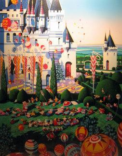 Castle Festival 1989 Limited Edition Print by Hiro Yamagata